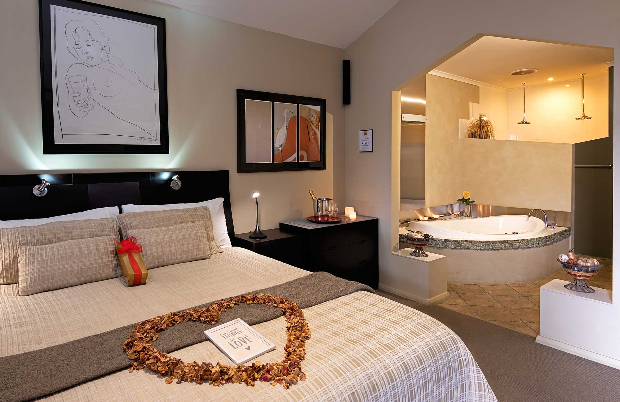 Luxury retreats for couples in Adelaide