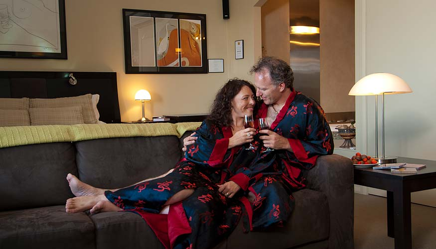 Enjoy a romantic getaway in comfort with that special someone
